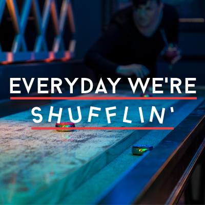 Everyday we're Shufflin'